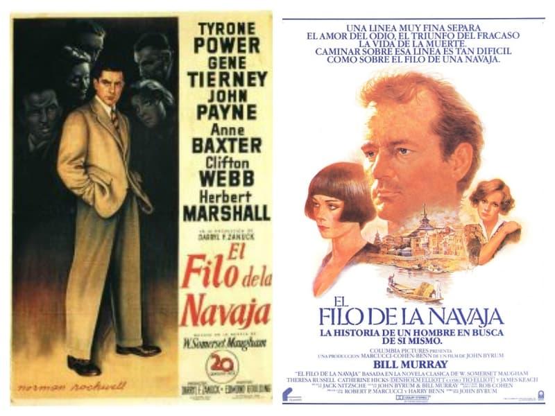 El Filo de la Navaja, en sus dos versiones, es una película sumamente recomendable. Entre tantas cosas que plantean, también exponen cualidades de la indiferencia.