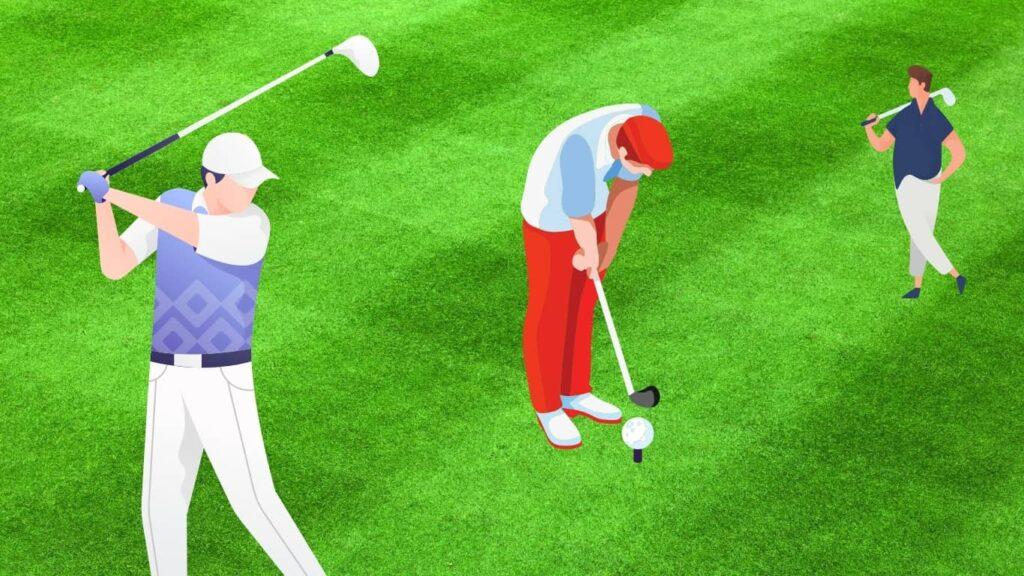 De qué se trata el golf en pocas palabras.
