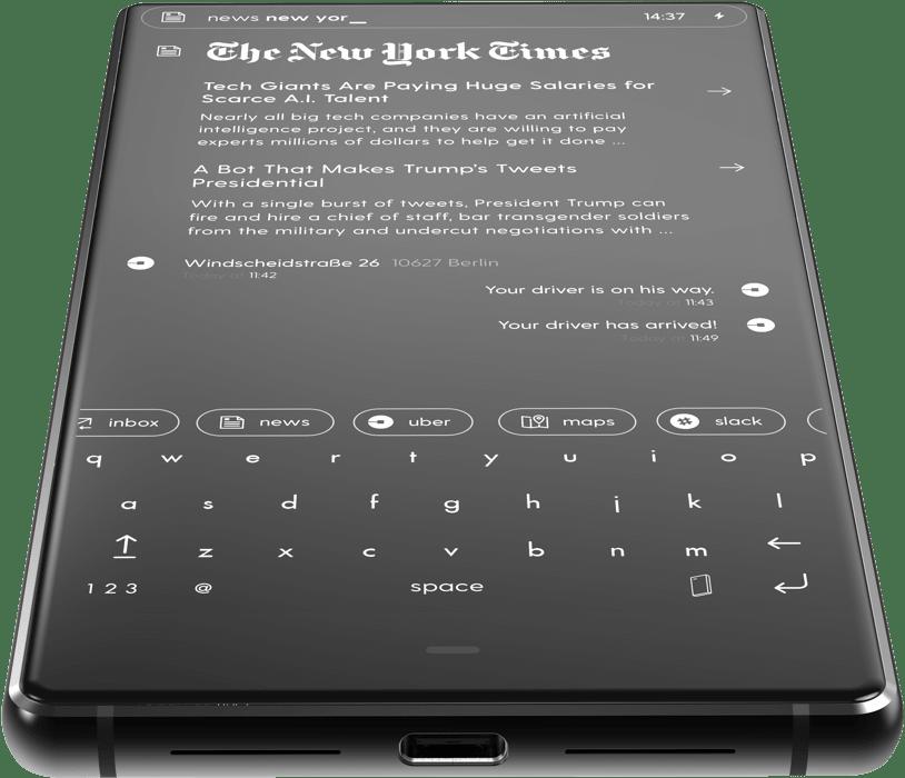 BLOCC Zero18 es un teléfono que pone primero a la gente.
