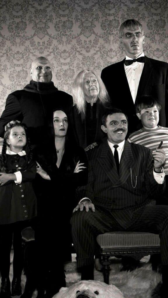 Los Locos Addams, una serie de los años 60 que se convirtió en un clásico de la televisón.