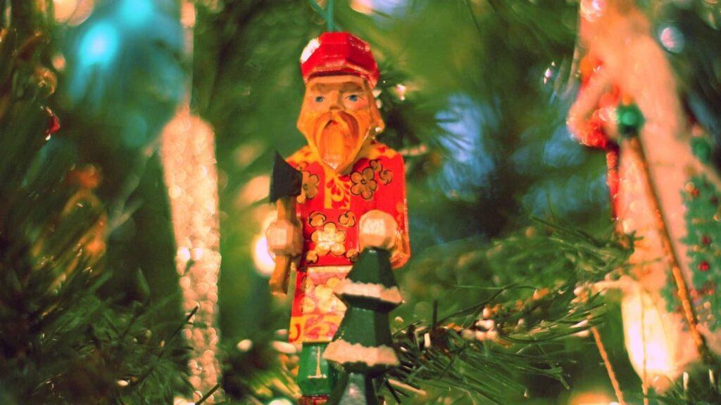 Adorno navideño, cada uno con su historia.