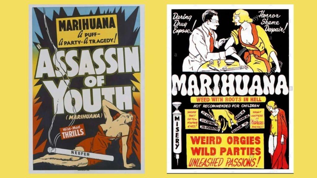 La propaganda se encargó de satanizar a la planta, con lo que sobrevino la prohibición de la marihuana.