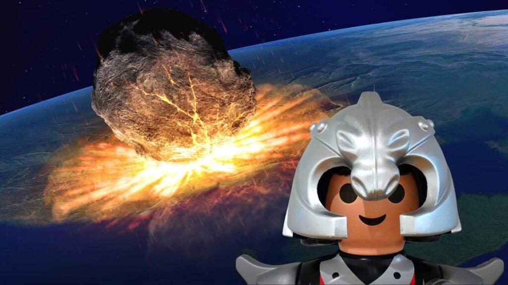 ¿Cómo reaccionarían ante el impacto de un meteorito?