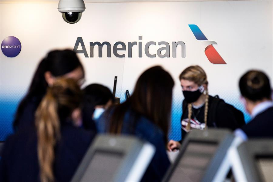 American Airlines aceptará tests de covid-19 hechos en casa.