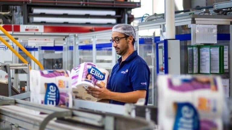 Softys logra cero emisiones en dos plantas de producción