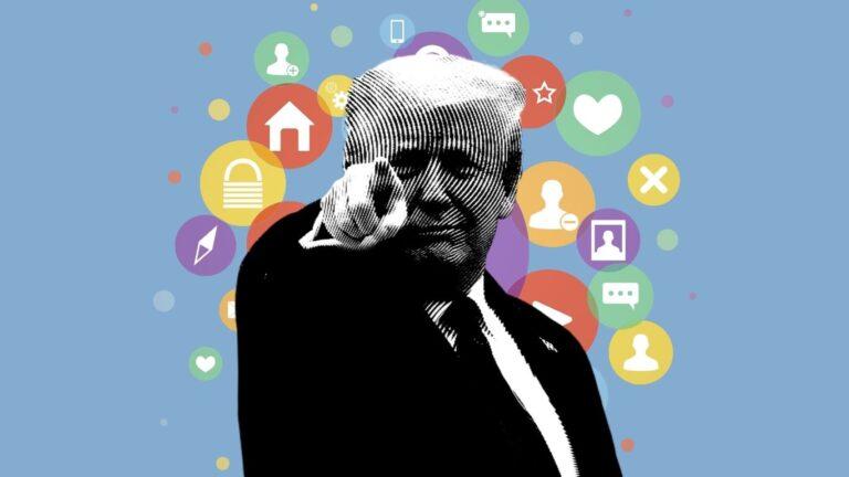 Facebook veta a Trump 2 años; Casa Blanca quiere que sea permanente